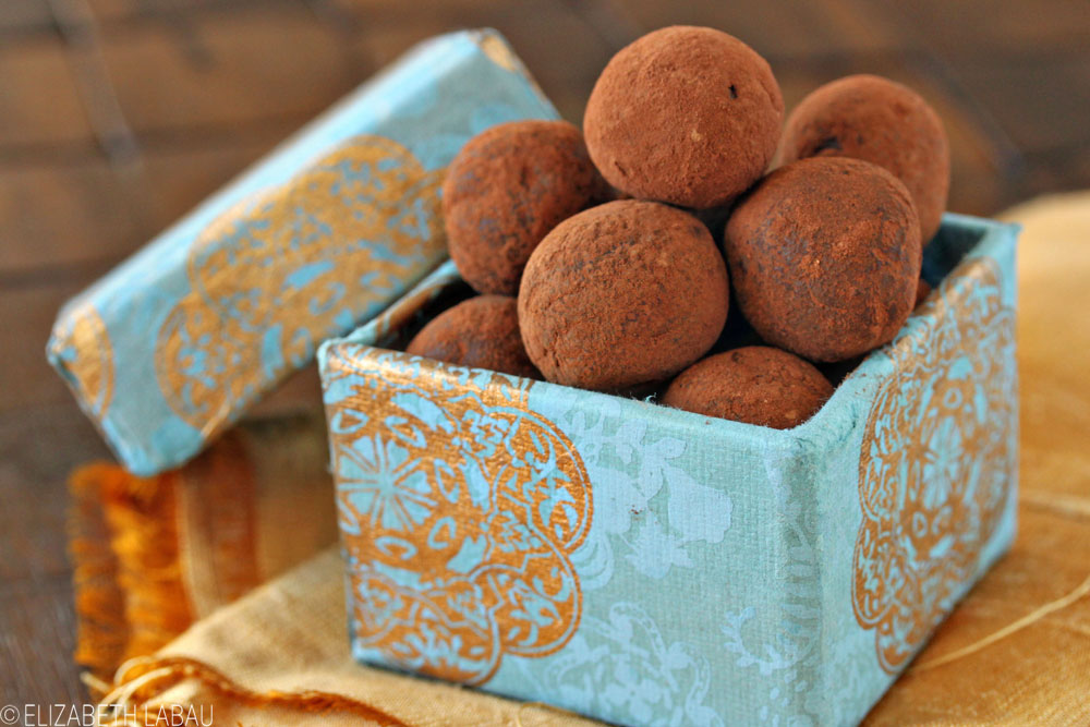 Chocolate Sour Cream Truffles
