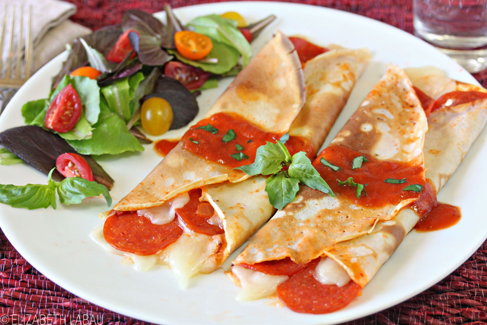 Pizza Crepes