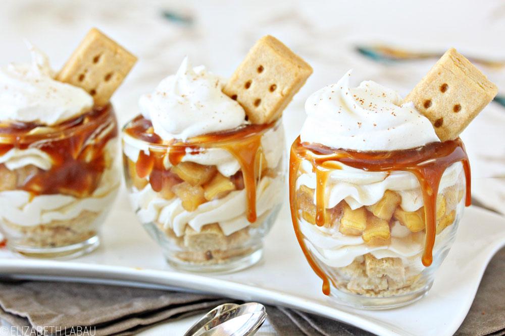 Apple Pie Cheesecake Parfaits